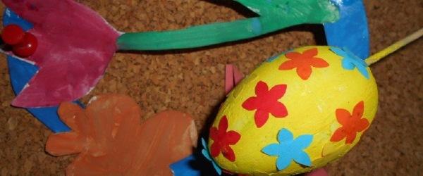 Egy festet tojás