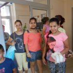 Gyerekek érkeznek a miskolci házba