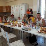 Közös ebéd a miskolci házban