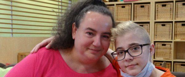 Tibor és anyukája